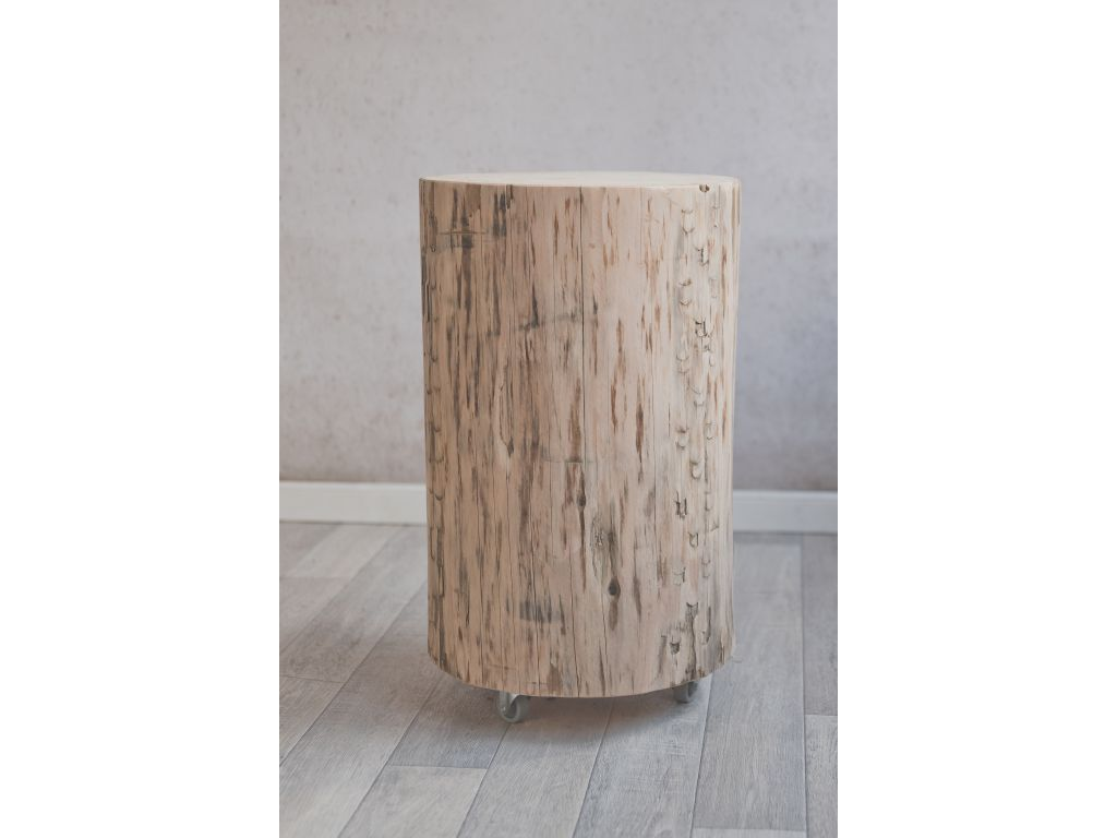 Boomstam tafel 35 cm hoog