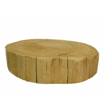 Boomstam sierschijf zonder schors 35 diameter